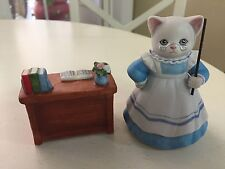 "Kitty Cucumber, ""Head of The Class"" (2 Pcs.), Mint, 1990, Schmid, 4"""