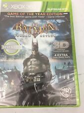 Batman: Arkham Asylum Game of the Year Edition for Xbox 360 Brand New!