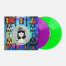 Kala MIA Exclusive VMP Club Edition Neon Purple & Green Color 2x Vinyl LP