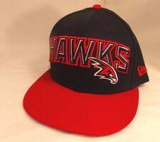 Throwback Atlanta Hawks New Era NBA Snapback Hat Cap 9 Fifty (ACC1-8)