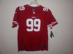 San Francisco 49ers #99 Aldon Smith NFL NIKE ON-FIELD YOUTH SIZE XL 18/20  *NEW*
