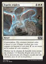 MTG Magic M15 - (4x) Triplicate Spirits/Esprits triplets, French/VF