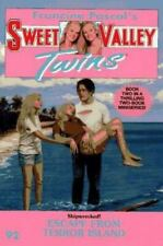 ESCAPE FROM TERROR ISLAND (Sweet Valley Twins)