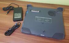 Port Replikator TOSHIBA PORTEGE 7000CT Docking + Netzteil DVD-Laufwerk Floppy