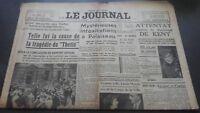 Newspapers The Journal N° 17030 Mardi 6 June 1939 ABE