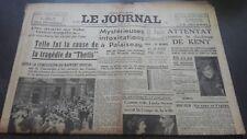 JOURNAUX LE JOURNAL N°17030 MARDI 6 JUIN 1939 ABE