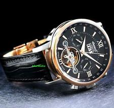 Ingersoll Men's Grand Canyon Collection 18K Rose Gold IP Automatic Luxury Watch