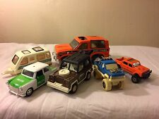 6 Piece Vintage #71 Collectible Trucks Tootsie Toy Buddy L Nylint S Car Kentoys