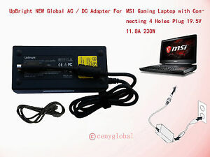 """AC Adapter Charger For MSI GT73VR TITAN 17.3"""" Gaming Laptop Series Power Supply"""
