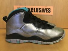 97a966ea6850 Nike Air Jordan 10 Retro 30th Lady Liberty Dust Metallic Men Size 9