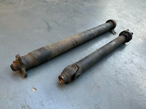BMW E34 5 series 530i M60 MANUAL Prop Drive Shaft Complete 3.0 V8 5 SPEED M60B30