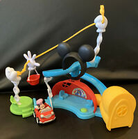 Disney Junior Mickey Mouse Clubhouse Zip Slide & Zoom Clubhouse Playset & Car