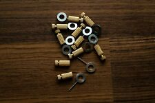 Handmade leather tools handsewing needles and attachment pins