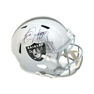 Bo Jackson Autographed Oakland Raiders Speed Full-Size Football Helmet - BAS COA