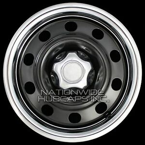 "06-11 Ford Crown Victoria 17"" Wheel Trim Rings & Center Hub Caps Beauty Rim Hubs"