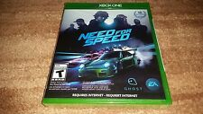 NEED FOR SPEED NFS ORIGINAL RELEASE MICROSOFT XBOX ONE BRAND NEW SEALED XBONE!