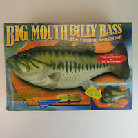 NOS Big Mouth Billy Bass Motion-Activated Singing Fish - New in Box 1998 Gemmy
