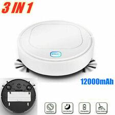 3 IN 1 Smart Robot Vacuum Cleaner Mop Automatic Sensor Edge Dry/Wet Floor 1800Pa