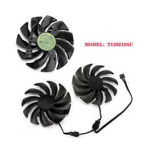 T129215SU/PLD09210S12HH Cooling Fan for Gigabyte GTX 1060 1070 Repair Parts