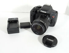 Canon T6i 24.2MP w/18-55mm IS II Lens- GREAT COND- SUPER LOW SHUTTER COUNT- 2674