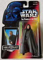 NEW Star Wars POTF Jedi Knight Luke Skywalker with Lightsaber and Cloak Kenner