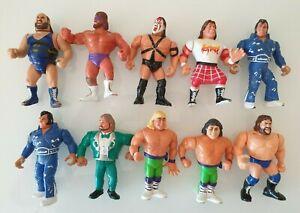 FIGURES FIGURINES HASBRO TITAN SPORTS 1991 WWE WWF LOT SNUKA ULTIMATE ROCKERS