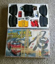 Vintage Artin Spiral Tier Triple Climb Road Slot Car Racing Set Battery Op Toy
