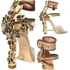 Dsquared2 Rihanna Virginia Sandals Crystal Pumps Heels Shoes BNIB 4 EU 37 £2595