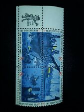 Scott 1480-83 US Stamp 1973 8c Boston Tea Party MNH Zip Block of 4 - # 775