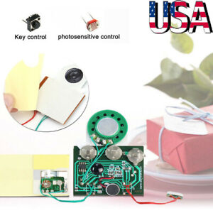 30S Voice Card Recordable Module for Greeting Card Music Sound Talk Musical Chip