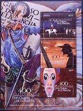 Mexico 2005 Don Quijote Cervantes 400th Guanajuato Literature Arts Sancho MNH