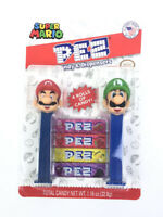 Super Mario Bros Pez Candy & Dispenser Rare Collectible Nintendo NEW EXP 2025