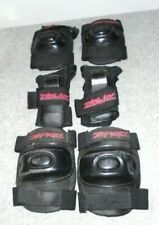 Sage Child Size Elbow, Knee & Wrist Protection in Carry Bag - Black - Prev. Used
