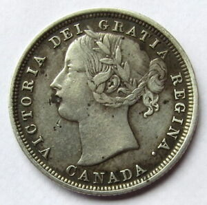 Canada 20 cents 1858