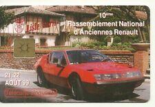RARE / CARTE TELEPHONIQUE - RENAULT ALPINE A 310 : AUTO FRANCE NEUVE / PHONECARD