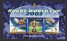New listing AUSTRALIA  2003 Rugby World Cup Minisheet MUH (0612)