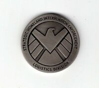 Agents Of Shield/Hydra 2 sided coin with plastic coin holder