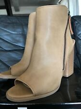Dolce Vita Open toe Sandal Boots Sand  Zara Urban Outfitters Steve Madden DSW