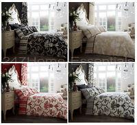Designer Duvet Quilt Cover Set With Pillowcase Single Double King Bedding Set