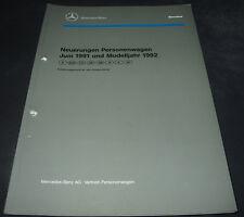 Werkstatthandbuch Mercedes W 124 Neuerungen 200 TD / 260 E 4Matic 300 D 06/1991