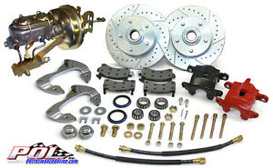 55-57 1955 1956 1957 CHEVY BELAIR FRONT DISC BRAKES KIT - FREE SHIPPING!!!