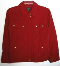 Ralph Lauren Womens Red Spring/Fall Lined Jacket (M) NWT