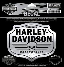 HARLEY DAVIDSON SKULL CHEVRON 5 INCH  DECAL