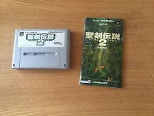 Super Nintendo SNES Spiel Secret of Mana Seiken Densetsu 2 japanische Version