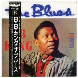 BB King 1991 Autographed The Blues LP (Japan)