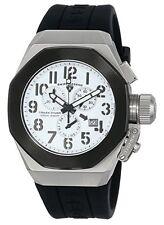 Swiss Legend 10542-02-BB Men's Trimix Diver Chronograph Watch White New in Box!
