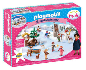PLAYMOBIL Calendario Dell'Avvento Heidi 70260 PLAYMOBIL