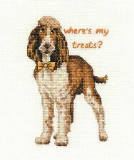 Dmc Springer Spaniel Perro Cross Stitch Kit