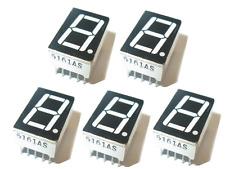 5 x 7 Segment Display 0.56  rot gemeinsame Kathode 1 stellig 5 Stück