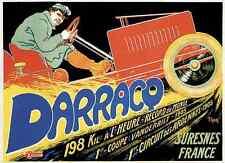 Darracq A4 Photo Print